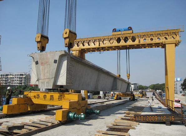 YPG300吨轮轨式运梁车