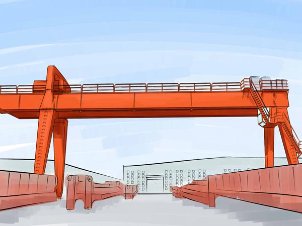 广东珠海10吨龙门吊出租